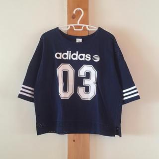 アディダス(adidas)のadidas 五分袖カットソー(Tシャツ(長袖/七分))