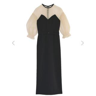 Ameri VINTAGE - 新作 AMERI AIRY SLEEVE TIGHT DRESS