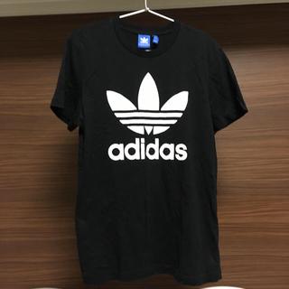 adidas - 【美品】adidasアディダストレフォイルロゴTシャツ