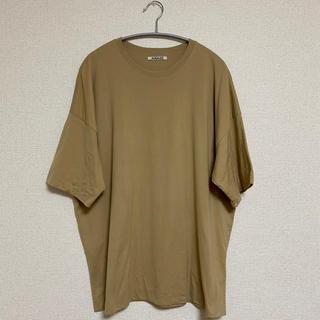 COMOLI - 【定価12,100円】オーラリー ダブルクロスT KH サイズ4 18SS
