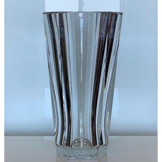 バカラ(Baccarat)の✯ 稀少 逸品 H30 Baccarat ディアン ベース クリスタル 花瓶 ✯(花瓶)