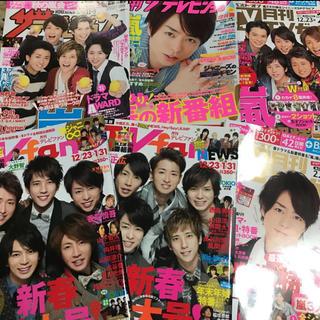 アラシ(嵐)の嵐 テレビ TV 雑誌(アート/エンタメ/ホビー)