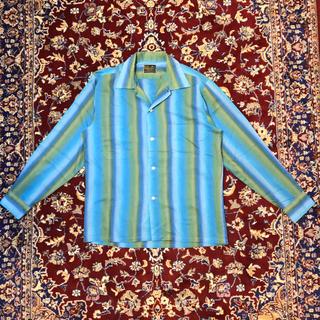 ジャンポールゴルチエ(Jean-Paul GAULTIER)の70s VINTAGE open-collar gradation shirt(シャツ)