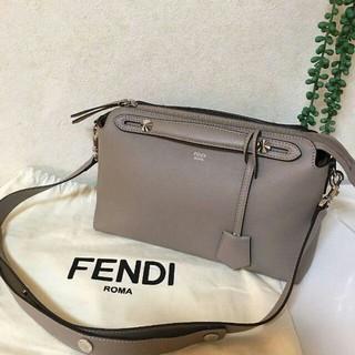 FENDI - FENDIフェンディ /ハンドバッグ ・バイザウェイ/トープ