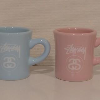 ステューシー(STUSSY)の【ステューシー】ペアカップ(グラス/カップ)