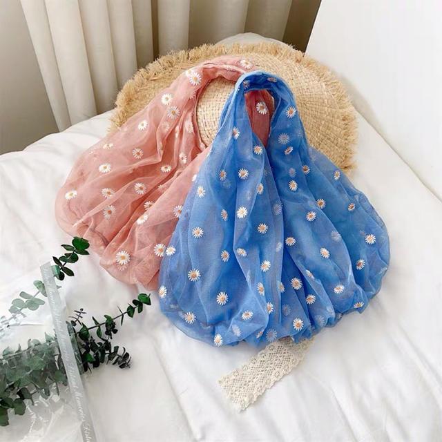お花シースルーバッグ レディースのバッグ(トートバッグ)の商品写真