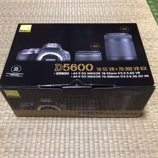 Nikon - 『新品/送料無料』ニコンDシリーズ D5600 ダブルズームキット