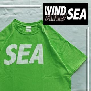 SEA - 美品 ウィンダンシー s/s tシャツ