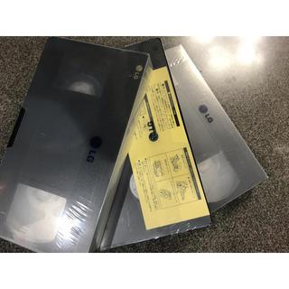 エルジーエレクトロニクス(LG Electronics)の未開封未使用VHSビデオテ生テープ3本(その他)