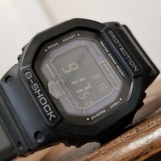 ジーショック(G-SHOCK)のオールブラック反転液晶 G-SHOCK GW-5600BJ(腕時計(デジタル))