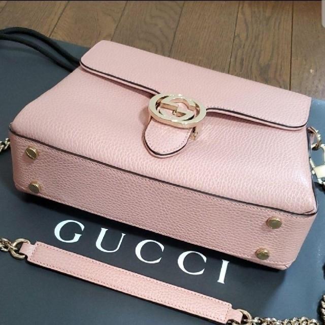 Gucci(グッチ)のGUCCI マーモント インターロッキングショルダーバッグ 2way レディースのバッグ(ショルダーバッグ)の商品写真