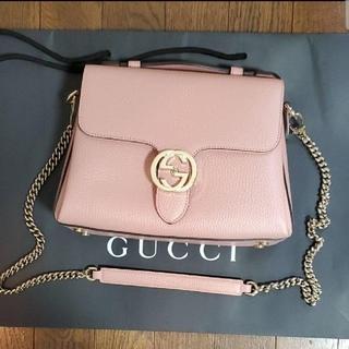 Gucci - GUCCI マーモント インターロッキングショルダーバッグ 2way