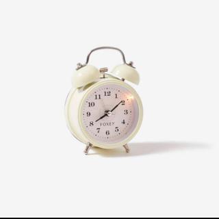 フォクシー(FOXEY)の未使用 フォクシー  ノベルティ 目覚まし時計(置時計)
