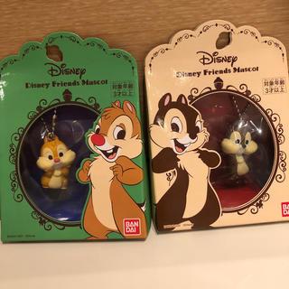 Disney - 新品 ディズニー チップとデール キーホルダー ラムネ