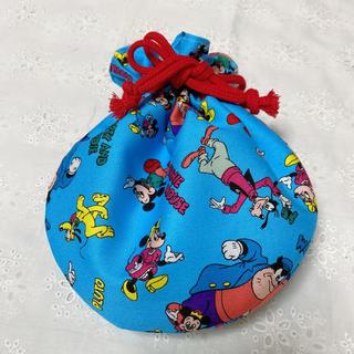 ディズニー(Disney)のハンドメイド ディズニー 巾着 ポーチ(ポーチ)
