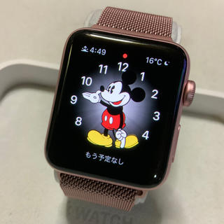 アップルウォッチ(Apple Watch)の(純正品) Apple Watch series2 42mm 限定ローズゴールド(腕時計(デジタル))