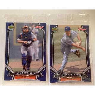 MLBカード 2枚 バーランダー、イバンロドリゲス(記念品/関連グッズ)