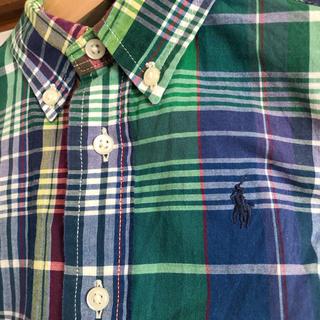 ラルフローレン(Ralph Lauren)の美品 ラルフローレン 半袖 シャツ 80 チェック(シャツ/カットソー)
