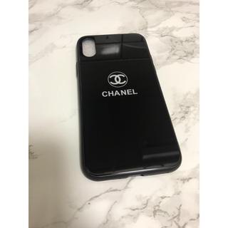 CHANEL - シャネル iPhone X XS ケース ブラック