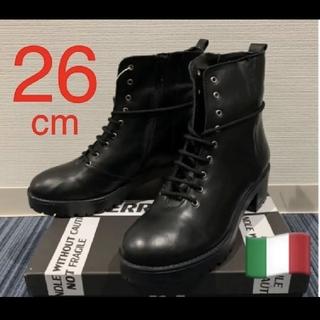ジョンローレンスサリバン(JOHN LAWRENCE SULLIVAN)のイタリア製 カーフスキン 26 cm PIERRE DARRE(ブーツ)