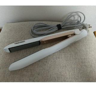 Panasonic - パナソニック ヘアアイロン ストレート用 海外対応 白 EH-HS99-W