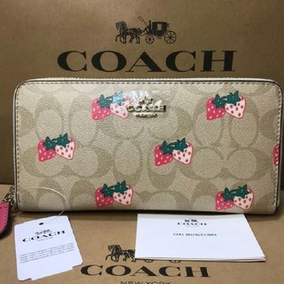 COACH - ◇【新品 未使用品】COACH 長財布 シグネチャー 98126
