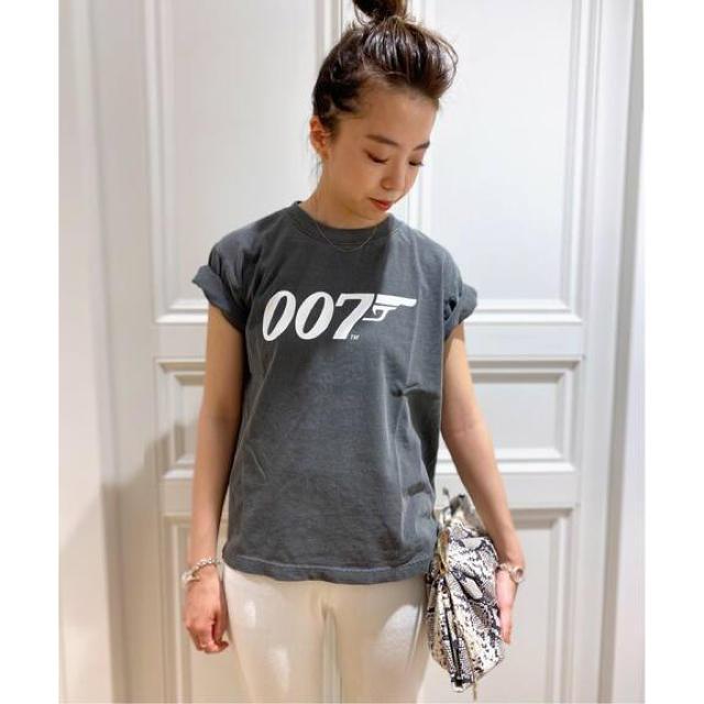 DEUXIEME CLASSE(ドゥーズィエムクラス)の【GOOD ROCK SPEED/グッドロックスピード】007Tシャツ レディースのトップス(Tシャツ(半袖/袖なし))の商品写真
