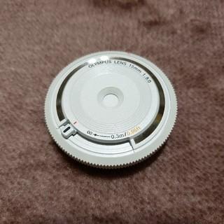 オリンパス(OLYMPUS)のボディキャップレンズ bcl-1580 白 (レンズ(単焦点))