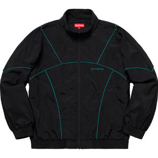 Supreme - 19ss 美品 黒 M supreme piping track jacket