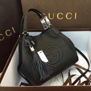 Gucci - GUCCI グッチ ソーホー インターロッキングG ブラック