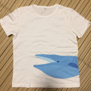 MUJI (無印良品) - 無印良品 Tシャツ いるか