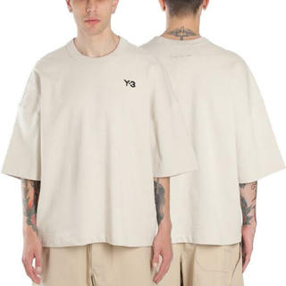 Y-3 - Y-3 ワイスリー オーバーサイズ ヘビーコットンTシャツ FP8696 F