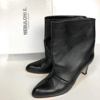 DEUXIEME CLASSE - 美品 37 ネブローニ NEBULONIE ショートブーツ 黒