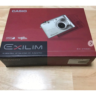 カシオ(CASIO)のCASIO EXILIM ZOOM EX-Z1000BK(コンパクトデジタルカメラ)