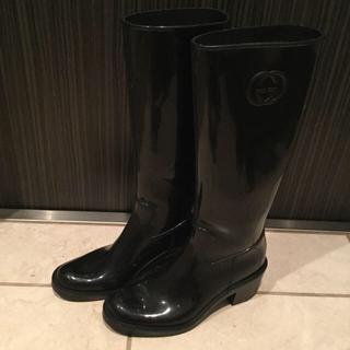グッチ(Gucci)のGucci  グッチ レインブーツ(レインブーツ/長靴)