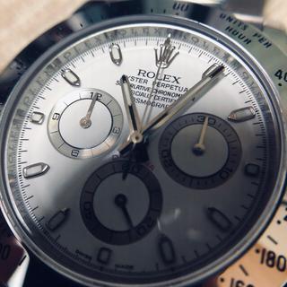 ロレックス(ROLEX)の純正文字盤 白 116520 修理部品一式(腕時計(アナログ))
