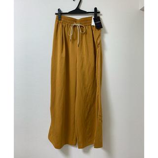 ロイスクレヨン(Lois CRAYON)の今月末まで値引き 新品 タグ付き ロイスクレヨン イエロー パンツ(カジュアルパンツ)