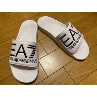 Emporio Armani - 美品 エンポリオアルマーニ サンダル 25.5cm EA7 一度のみ着用 正規品