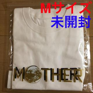ニンテンドウ(任天堂)のほぼ日 マザー MOTHER Tシャツ(ロゴ)ホワイト マザー ニンテンドー(Tシャツ/カットソー(半袖/袖なし))