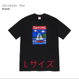 Supreme - supreme sail boat tee L