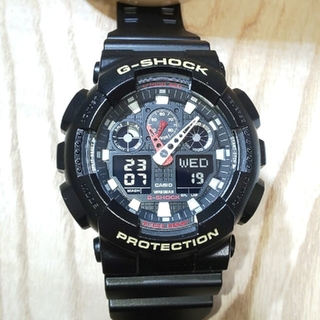 G-SHOCK - G-SHOCK  GA-100B ベルベゼ未使用品カスタム 美品