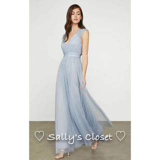 ビーシービージーマックスアズリア(BCBGMAXAZRIA)の⭐️人気新作 ♡ BCBGMAXAZRIA ワンピース ドレス 新品綺麗♡ 4b(ロングドレス)