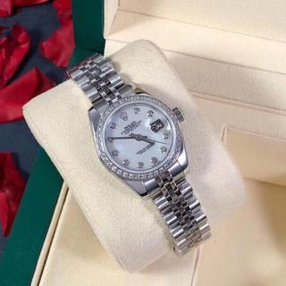 限定本日 ROLEX 自動巻 ロレックス レディース 腕時計