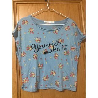 ココディール(COCO DEAL)のCOCODEAL 花柄Tシャツ(Tシャツ(半袖/袖なし))