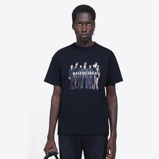 saintvêtement (saintv・tement) - ロゴ ミディアムフィットTシャツ バレンシアガ