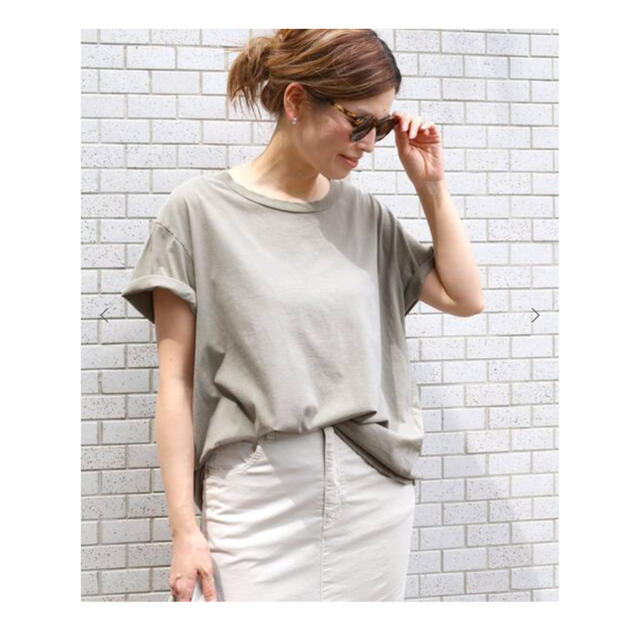 DEUXIEME CLASSE(ドゥーズィエムクラス)の【送料込5,850円】Deuxieme Classe loose Tシャツ レディースのトップス(Tシャツ(半袖/袖なし))の商品写真