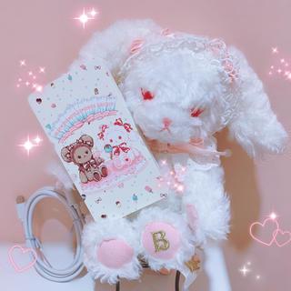 BABY,THE STARS SHINE BRIGHT - くみゃちゃんのSweet Ice Cream柄 モバイルバッテリー