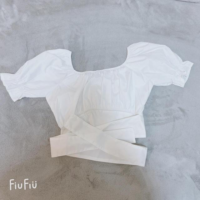 トップス 韓国 レディースのトップス(シャツ/ブラウス(半袖/袖なし))の商品写真