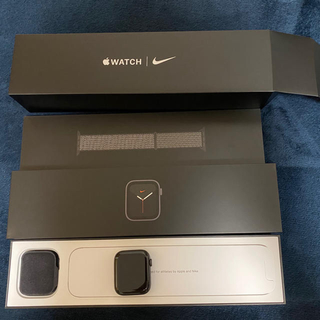 Apple Watch - AppleWatch Series 5 GPSモデル アルミ 44mm NIKE