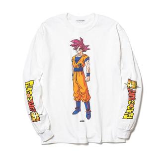 ドラゴンボール(ドラゴンボール)のflagstuff  ドラゴンボール コラボ ロンT(Tシャツ/カットソー(七分/長袖))